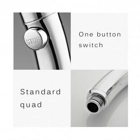 BAKALA Kepala Shower Mandi Rotating 360 Degrees With  3 Mode Water Pressure - BR-2223 - Silver - 5
