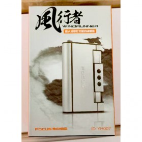 Firetric Focus Kotak Rokok Cigarette Box 8 Slot dengan Korek Gas - YH007 - Black - 8
