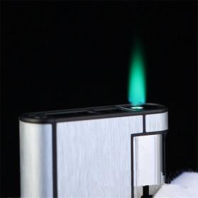 Firetric Focus Kotak Rokok Cigarette Box 8 Slot dengan Korek Gas - YH007 - Black - 2