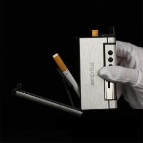 Firetric Focus Kotak Rokok Cigarette Box 8 Slot dengan Korek Gas - YH007 - Black - 3