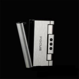 Firetric Focus Kotak Rokok Cigarette Box 8 Slot dengan Korek Gas - YH007 - Black - 4