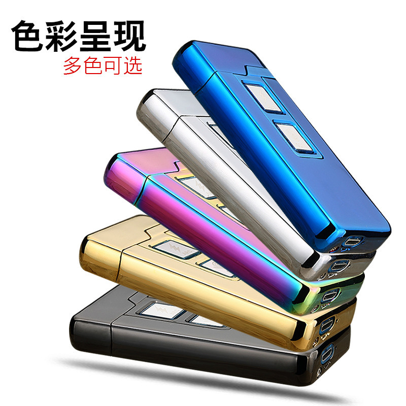 JINLUN Korek Api Elektrik Plasma Arc Coil Lighter USB ...