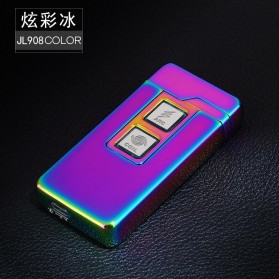 JINLUN Korek Api Elektrik Plasma Arc Coil Lighter USB Rechargeable -  JL908 - Multi-Color