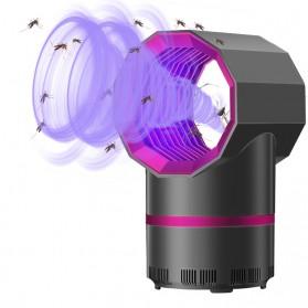 ETONTECK Pembasmi Nyamuk Mosquito Lamp Killer Photocatalysis Vortex UV Light - 5967 - Gray