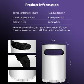 ETONTECK Pembasmi Nyamuk UV USB Light Mosquito Lamp - M33 - White - 4