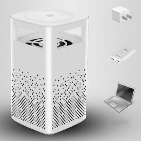 ETONTECK Pembasmi Nyamuk UV USB Light Mosquito Lamp - M44 - White - 10