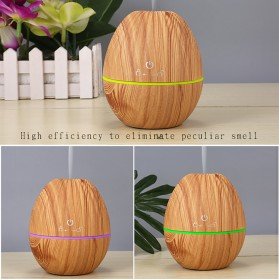 Kongyide Air Humidifier Aromatherapy Oil Diffuser Wood Design 130ml - AJ-510 - Wooden - 7