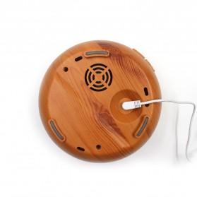 Kongyide Air Humidifier Aromatherapy Diffuser Wood Design 300ml - AJ-511 - Dark Brown - 10