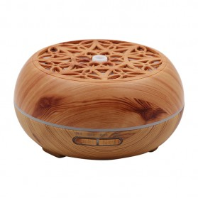 Kongyide Air Humidifier Aromatherapy Diffuser Wood Design 300ml - AJ-511 - Wooden
