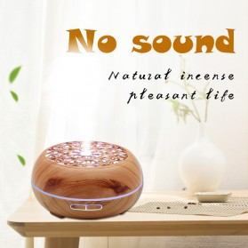 Kongyide Air Humidifier Aromatherapy Diffuser Wood Design 300ml - AJ-511 - Wooden - 2