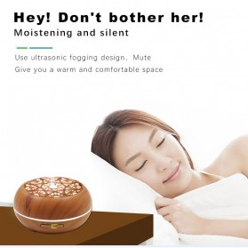 Kongyide Air Humidifier Aromatherapy Diffuser Wood Design 300ml - AJ-511 - Wooden - 4
