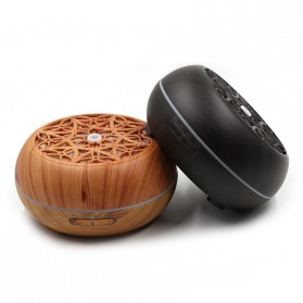 Kongyide Air Humidifier Aromatherapy Diffuser Wood Design 300ml - AJ-511 - Wooden - 9