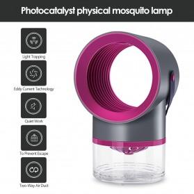 Tomshine Pembasmi Nyamuk Mosquito Lamp Killer Photocatalysis Vortex UV Light - KLY-189 - Gray