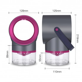 Tomshine Pembasmi Nyamuk Mosquito Lamp Killer Photocatalysis Vortex UV Light - KLY-189 - Gray - 6