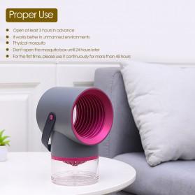 Tomshine Pembasmi Nyamuk Mosquito Lamp Killer Photocatalysis Vortex UV Light - KLY-189 - Gray - 8