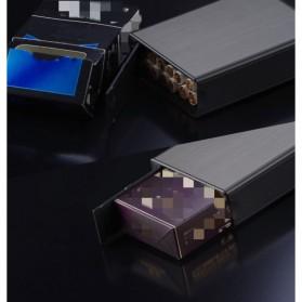 Vamav Kotak Rokok 20 Slot dengan Korek Elektrik USB Rechargeable - J708 - Black - 4