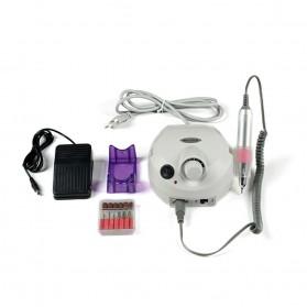MTPure Alat Manicure Pedicure Kuku Electric Nail Drill Mill Cutter Machine 20000 RPM - YM88 - White - 2