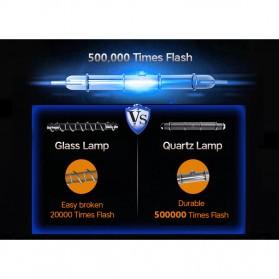 Vancostar IPL Laser Epilator Permanent Hair Removal 500000 Flashes - D-1176 - White - 11