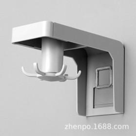 Liplasting Gantungan Spatula Kitchen Bathroom Hook - AS400 - Gray - 2