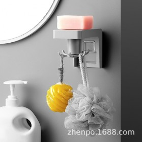 Liplasting Gantungan Spatula Kitchen Bathroom Hook - AS400 - Gray - 3