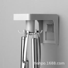 Liplasting Gantungan Spatula Kitchen Bathroom Hook - AS400 - Gray - 4