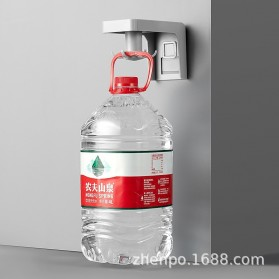 Liplasting Gantungan Spatula Kitchen Bathroom Hook - AS400 - Gray - 6
