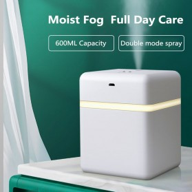 Smart Automatic Intelligent Induction Sprayer Alcohol Disinfection Hand Sanitizer 600ml - T3 - White - 3