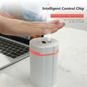 Disinfektan Smart Automatic Intelligent Induction Sprayer Alcohol Disinfection Hand Sanitizer 280ml - 603 - White - 2