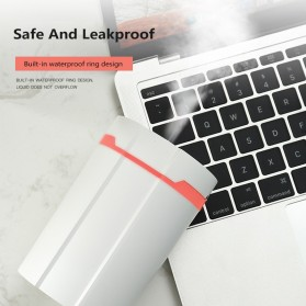 Disinfektan Smart Automatic Intelligent Induction Sprayer Alcohol Disinfection Hand Sanitizer 280ml - 603 - White - 5
