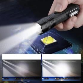 SANYI Senter LED Mini Korek Api Elektrik Plasma Arc - F201 - Black - 4