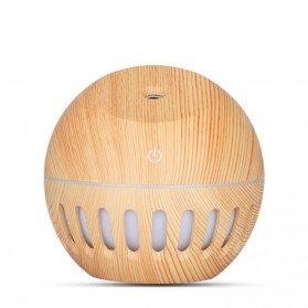 NAGOMI Air Humidifier Aromatherapy Oil Diffuser Wood Design 130ml - YX-020e - Wooden