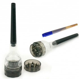 SMOKALL Grinder Penggiling Tembakau Rokok Herbal Herb Crusher with Paper Roll - A1005 - Mix Color