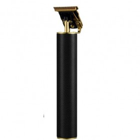 VIP Alat Cukur Elektrik Hair Clipper Ceramic Trimmer USB Rechargerable Model Retro Black - WS-T99 - Black Gold