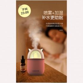HFER Mini Air Humidifier USB Cute Cat - H329 - Pink - 4