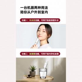 HFER Mini Humidifier Skin Facial Moisturizing Portable USB - BT-3 - White - 2