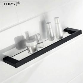 TURS Gantungan Dinding Kamar Mandi Premium Tempat Sabun Serbaguna N1-B - Black