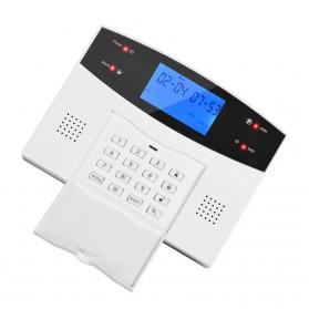 EMASTIFF Sistem Alarm Rumah Anti Maling Home Security WiFi GSM PTSN - G2BW - White - 4