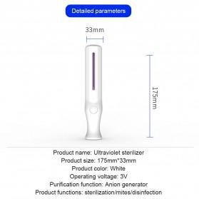JCHEN Lampu UV Sterilization Portable Disinfektan Germicidal Lamp - WK-652847 - White - 6