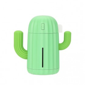 Himist Cactus Air Humidifier Aromatherapy Oil Diffuser LED 340ml - HM340 - Green - 1