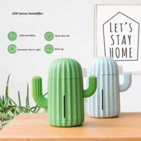 Himist Cactus Air Humidifier Aromatherapy Oil Diffuser LED 340ml - HM340 - Green - 4