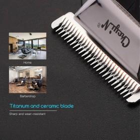 SURKER Alat Cukur Elektrik Hair Clipper Trimmer Cordless Barber - RFC-688B - Black - 8