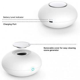 Cikuso Mini Ozone Generator Pembersih Udara Air Purifier Cleaner Formaldehyde - CM-03 - White - 4