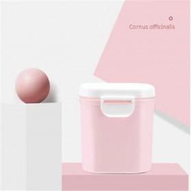 Applebear Toples Wadah Susu Bubuk Food Storage Container Milk Powder Large - OSM739 - Pink