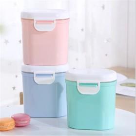 Applebear Toples Wadah Susu Bubuk Food Storage Container Milk Powder Large - OSM739 - Pink - 2