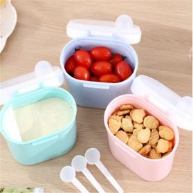 Applebear Toples Wadah Susu Bubuk Food Storage Container Milk Powder Large - OSM739 - Pink - 3