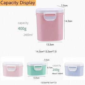 Applebear Toples Wadah Susu Bubuk Food Storage Container Milk Powder Large - OSM739 - Pink - 5