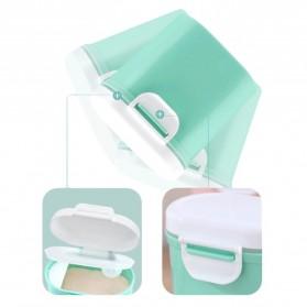 Applebear Toples Wadah Susu Bubuk Food Storage Container Milk Powder Large - OSM739 - Pink - 6