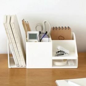 Sharkbang Rak Meja Buku Stationery Make Up Organizer Book Shelves - 2019661 - Beige - 2