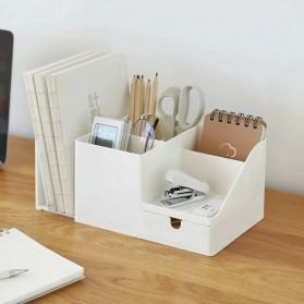Sharkbang Rak Meja Buku Stationery Make Up Organizer Book Shelves - 2019661 - Beige - 3
