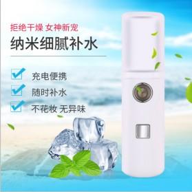 Vinkkatory Humidifier Nano Mist Sprayer Facial Steamer Moisturizer Nebulizer 20ml - L8 - White - 1